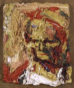Head of E.O.W. I 1960 by Frank Auerbach born 1931