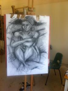 life drawing finished
